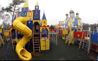 Архиепископ Горловский и Славянский Митрофан о детском городке при Богоявленском соборе