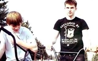 Горловская молодежь активно агитирует за экстрим на велосипедах BMX
