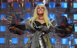 С кем из горловчан танцевала Таисия Повалий на концерте в КСКЦ «Стирол»?