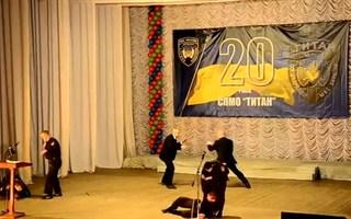 """Показательные выступления горловских """"титановцев"""""""