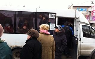 Об остановке автобусов в Горловке – в эфире «5 канала»