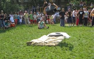 В Горловке соревновались в уличных танцах в рамках фестиваля «Здоровое будущее»
